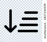 sort icon vector for any...