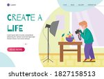 Website Homepage For Creative...