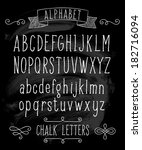 vector set with hand written... | Shutterstock .eps vector #182716094