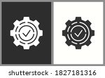 settings icons. vector...   Shutterstock .eps vector #1827181316