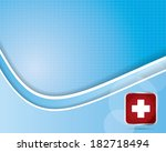 abstract medical background  | Shutterstock . vector #182718494