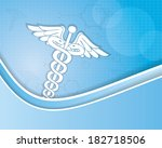 abstract medical background  | Shutterstock . vector #182718506