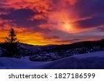 View Of Sunrise In Colorado...