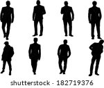 the set of man fashion... | Shutterstock .eps vector #182719376