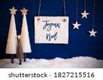 Christmas Tree  Blue Background ...