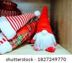 Plush Toy Gnome On The Shelf...