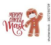 merry christmask  christmas... | Shutterstock .eps vector #1827250739