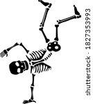 Skeleton Dancing Breakdance...