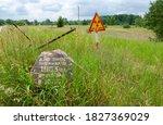 Warning Sign Radioactivity At...
