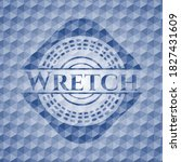 Wretch Blue Badge With...