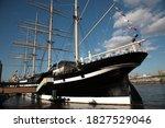 View Of Moshulu Sailing Ship...