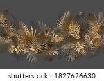 tropical unusual color leaves.... | Shutterstock .eps vector #1827626630