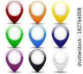 set of buttons | Shutterstock . vector #182766008