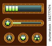 metallic progress bar...