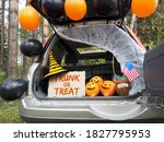 Trick Or Trunk. Concept...