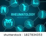 rheumatology medicine  joint... | Shutterstock .eps vector #1827834353