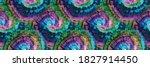 vector tie dye swirl. dyed... | Shutterstock .eps vector #1827914450