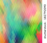 abstract rhombus background   Shutterstock .eps vector #182792090