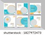6 editable social media black...   Shutterstock .eps vector #1827972473