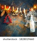 2021 Happy New Year Background...