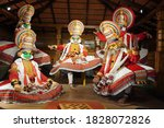 Kathakali Performers During Th...
