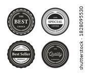 retro vintage badges and labels | Shutterstock .eps vector #1828095530