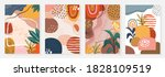 abstract art pastel backgrounds ... | Shutterstock .eps vector #1828109519