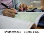 working woman | Shutterstock . vector #182811533