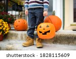 Kid Ready For Trick Or Treat....