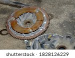 Damaged Motorcycle Engine Spare ...