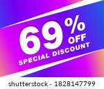 69  Off Sale Discount Banner....
