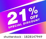 21  Off Sale Discount Banner....