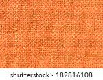Closeup Detail Of Orange Fabri...