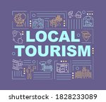 local tourism word concepts...