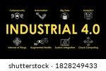 industrial 4.0 illustration.... | Shutterstock .eps vector #1828249433