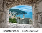 View Of Dubrovnik Wall  Tower...