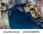 View Down A Water Filled Shaft...