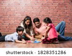 Indian Young Family Of Four...