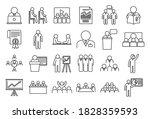 business training presentation... | Shutterstock .eps vector #1828359593