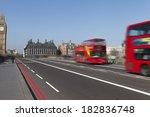 westminster bridge in london ... | Shutterstock . vector #182836748