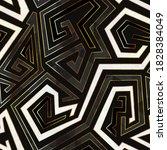 retro geometric seamless... | Shutterstock .eps vector #1828384049