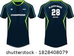 sports t shirt jersey design... | Shutterstock .eps vector #1828408079