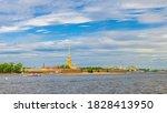 Panorama Of Saint Petersburg...