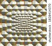 computer generated pattern.3d...   Shutterstock . vector #1828414370