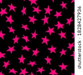 Seamless Pattern With Magenta...