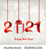 2021 new year background with... | Shutterstock .eps vector #1828462106