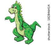 dinosaur | Shutterstock .eps vector #182846414