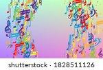 disco background. many random... | Shutterstock .eps vector #1828511126