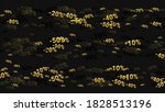 percent sings on dark... | Shutterstock .eps vector #1828513196