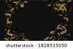 percent sings on dark... | Shutterstock .eps vector #1828515050